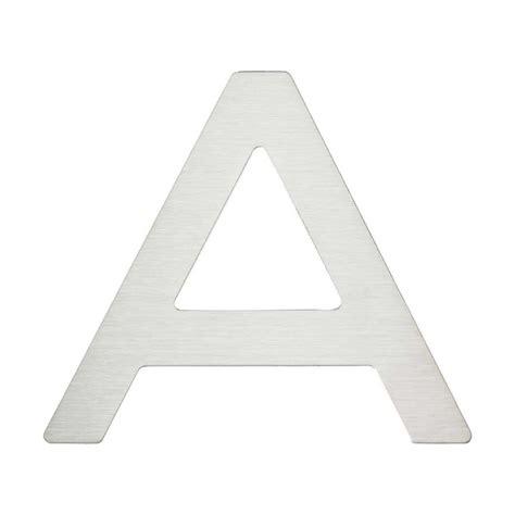 parts of a letter atlas homewares paragon house letter quot a quot stainless steel 1531
