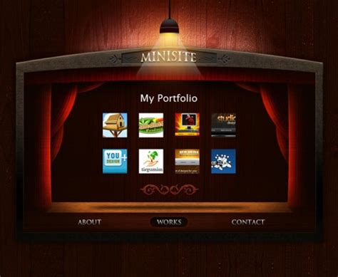 portfolio template psd file free download