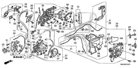 honda odyssey sliding door parts diagram 2005 honda sliding door you use the manual door handle