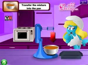jeu schtroumpfette cuisine