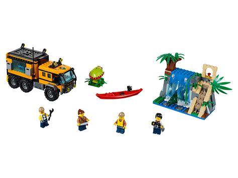 Lego City 60160 Jungle Mobile Lab preview lego city jungle 2017 sets
