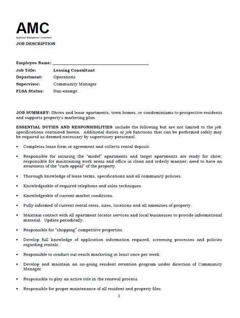 leasing consultant careers interesting cover letter sles for management and consultant implementation consultant