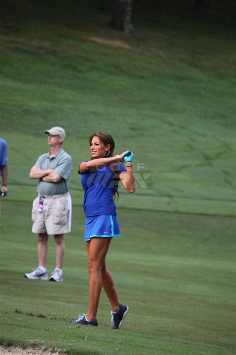 holly sonders swing wyndham pro am with john daly holly sonders pinterest