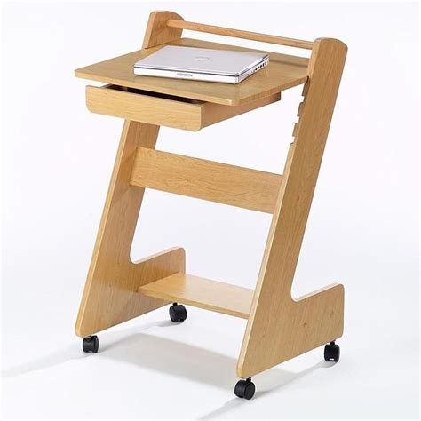 small rolling computer desk small rolling computer desk laptop mobile desk for home