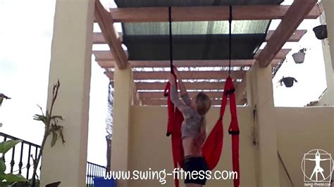 how to hang a yoga swing how to install a yoga swing swing fitness youtube