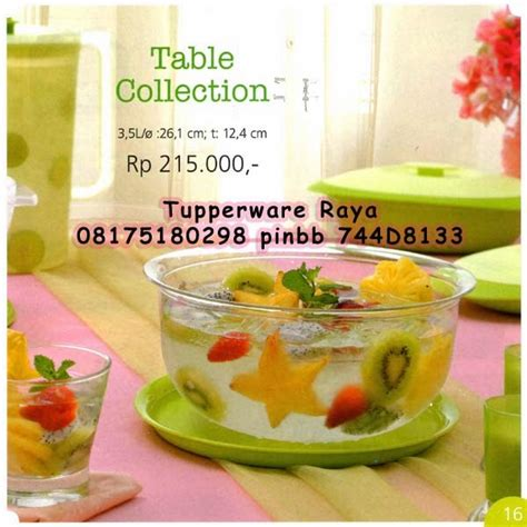 Tupperware Table Collection tupperware raya katalog tupperware promo januari 2014
