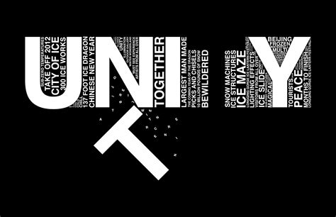 Unity Black Layout | closure and value the word quot unity quot can still be seen
