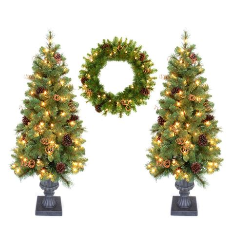 4 ft tree home accent 4 ft pot tree artificial