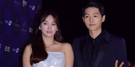 film terbaru song joong ki song hye kyo bantah rumor hadiri pemutaran film baru song