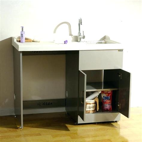 stainless steel laundry sink with legs stainless steel garage sink image of stainless steel