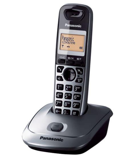 land line phones buy panasonic kxtg3551sxm cordless landline phone grey landline phone at best price in