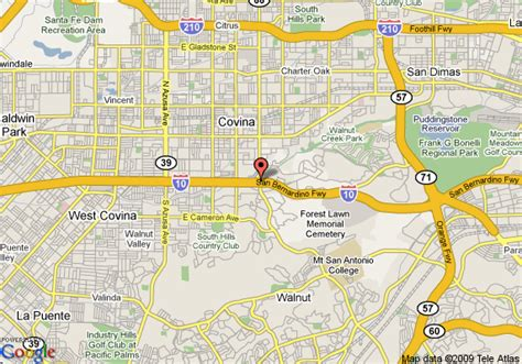 covina california map map of best western west covina inn west covina