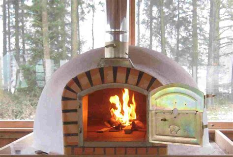 Handmade Oven - make a wood fired oven chimney