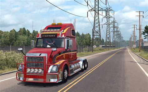 american volvo trucks volvo vnl 670 for ats truck v1 4 1 by aradeth american
