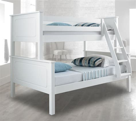 Vancouver Bunk Beds Happy Beds Vancouver 4ft Bunk Bed Triple Sleeper Solid