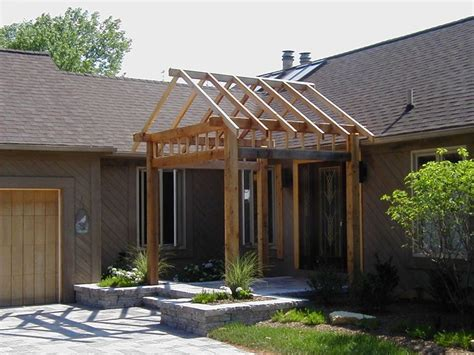 Gable Design Cedar Pergola Archadeck Outdoor Living Of Cedar Pergola Designs