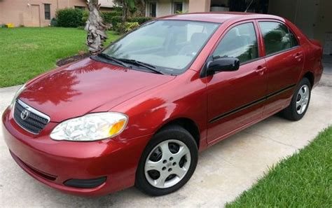 automotive air conditioning repair 2005 toyota corolla electronic valve timing find used 2005 toyota corolla ce sedan 4 door 1 8l in riverview florida united states for us