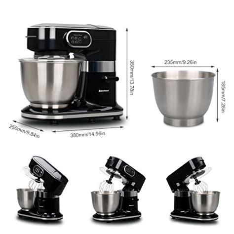 mixer küchenmaschine test excelvan k 195 188 chenmaschine 1000w 5 5l edelstahl