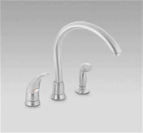 moen monticello kitchen faucet dirtcheapfaucets moen 7730sl monticello single handle kitchen faucet with cathedral spout