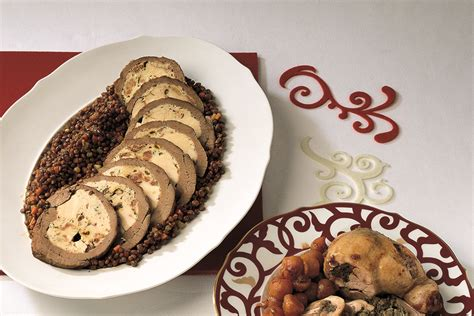 cucinare scamone ricetta arrosto di scamone con lenticchie la cucina italiana