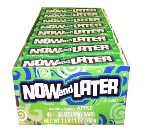 Amazon.com : Now and Later 48 Pack Black Radberry & Other ... Now And Later Candy Flavors