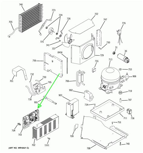 ge monogram refrigerator parts diagram can you help me my ge monogram door pad