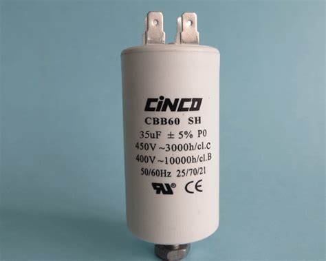 Kapasitor 35 Uf 35uf 400v 450vac cbb60a motor run capacitors cinco