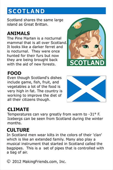 facts  scotland makingfriendsmakingfriends