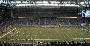 detroit lions ford field nfl fields