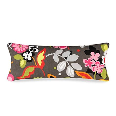 bed bath and beyond kirby glenna jean kirby large flower pillow bedbathandbeyond com