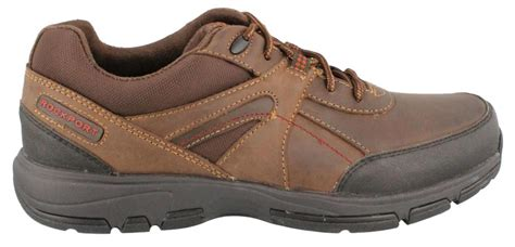 rockport sport shoes rockport make your path up sport shoe leather mens lace