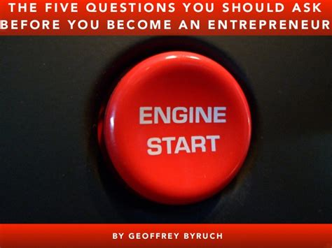 10 questions every entrepreneur should ask before starting an