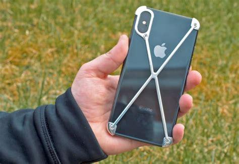 mod 3 radius x review a minimalist iphone x like an exoskeleton