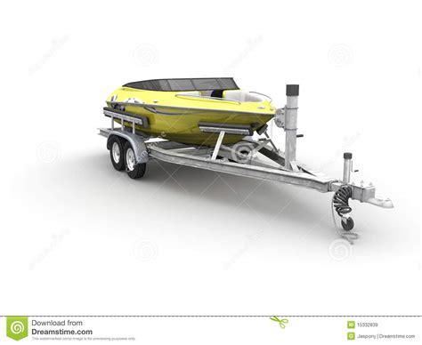 boat trailer clipart boat and trailer stock illustration illustration of
