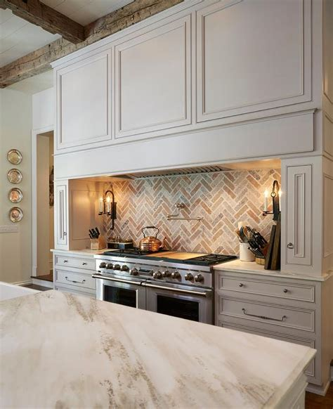 kitchen brick backsplash interior design inspiration photos by cantley and company