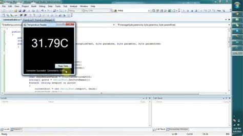 tutorial arduino visual studio tutorial arduino interfacing with c to read temperature