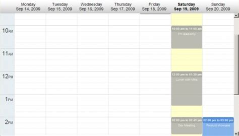 Calendario J Query Jquery 9 Plugins Para Crear Calendarios Y Seleccionadores