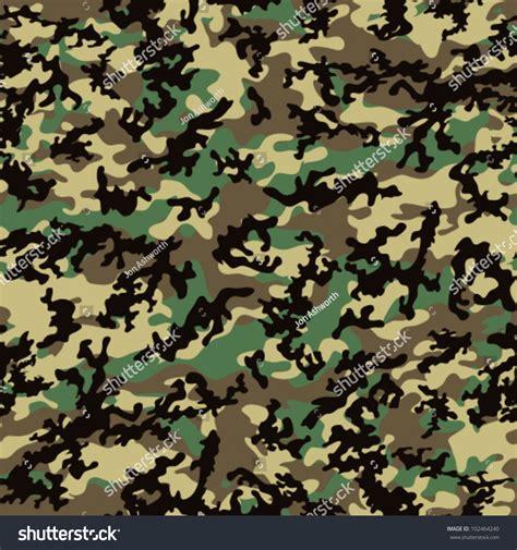 Supreme Black Loreng classic woodland camo pattern seamless repeatable stock