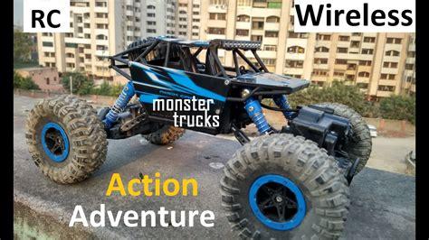 remote control monster trucks videos remote control monster trucks rock crawling car 1 18