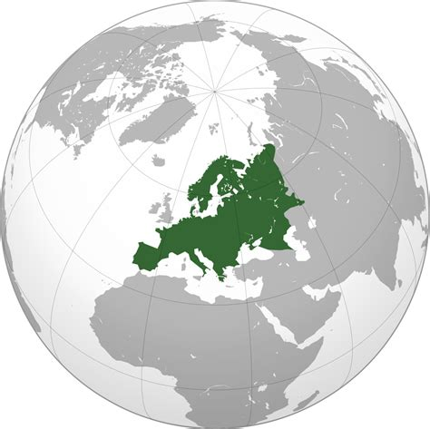 map of mainland europe continental europe