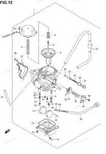 suzuki atv parts suzuki atv parts 2005 lt a400c carburetor diagram