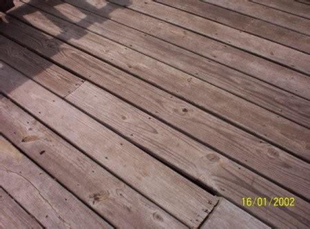 refinishing  wood deck thriftyfun