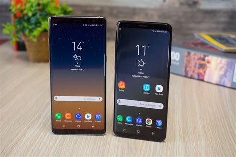 galaxy s9 with android 9 0 pie leak may hint at faster samsung updates phonearena