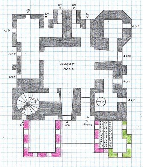 minecraft castle floor plan early castles
