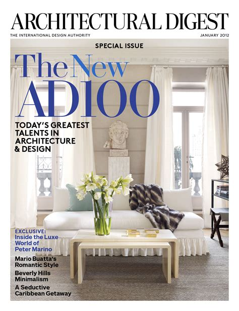 Architectural Digest | architectural digest celebrates the new ad100 list