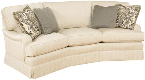 Curved Fabric Sofa Furniture Amazing Fabric Upholstery Curved Sectional Sofa With Decorative Pillows For Home