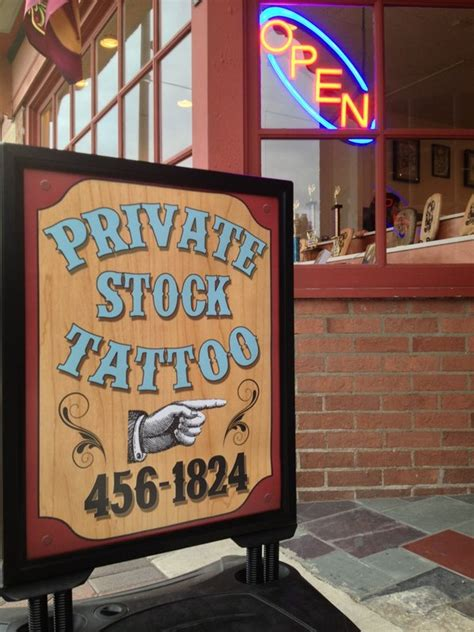 private stock tattoo stock in racine wi relylocal