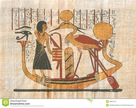 Egyptian Wall Mural egyptian drawing stock photos image 16821273