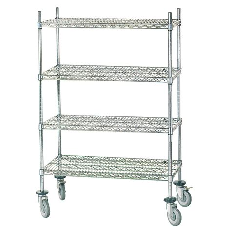 advance tabco shelving advance tabco mc 2460p chrome wire shelving unit w 4