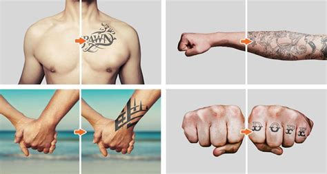 tattoo mockup photoshop tattoo mockup photoshop templates pack by go media